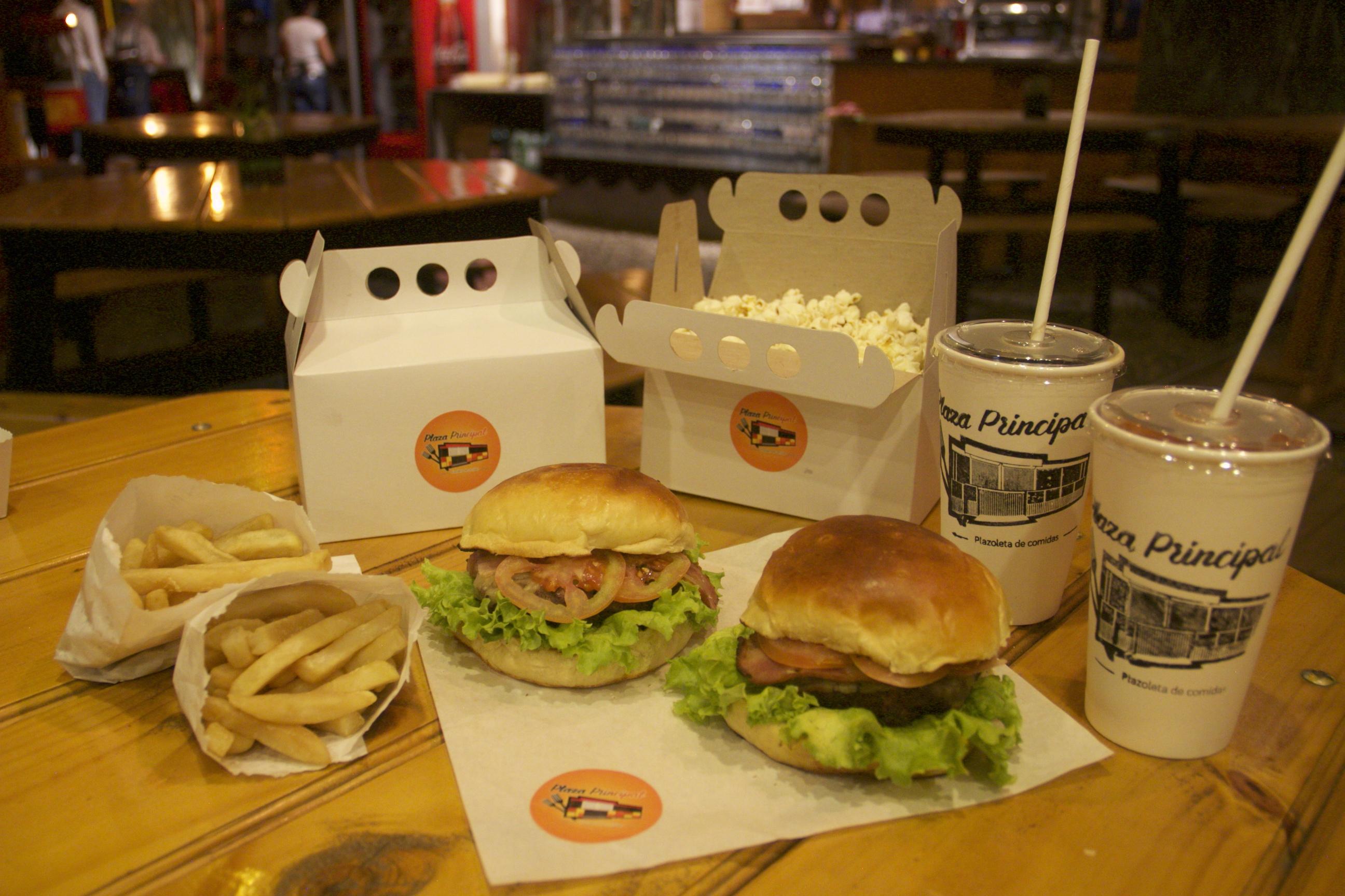 Combo 4 hamburguesa