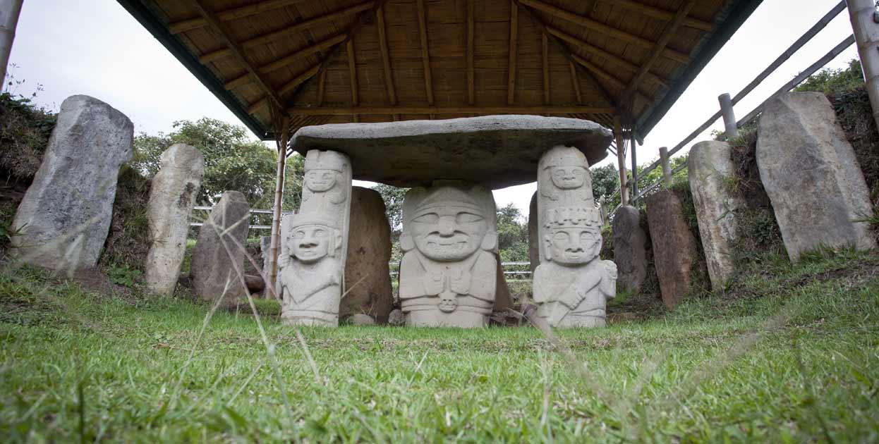Parque arqueologico san agustin huila