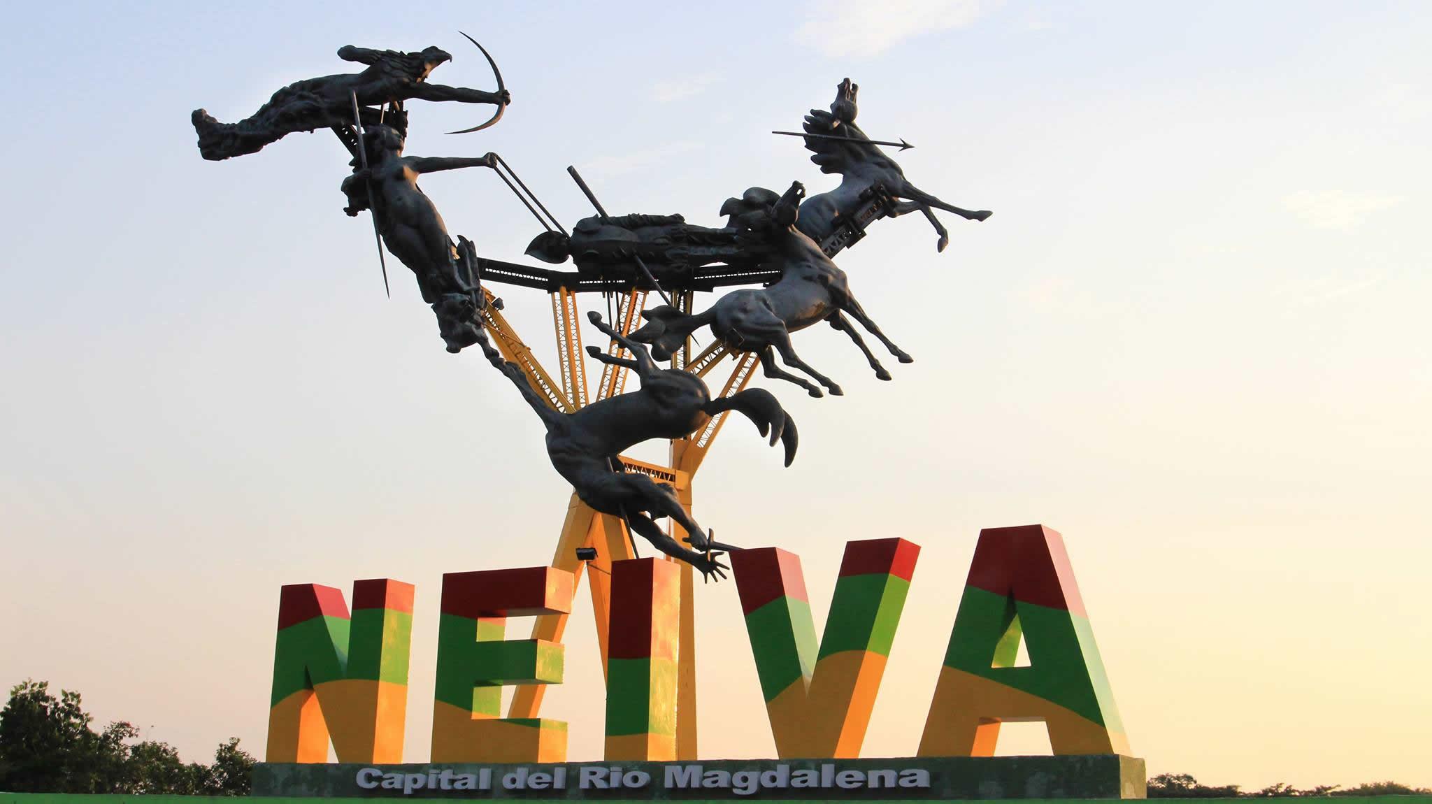 Monumento la gaitana nueva zona wifi gratis de neiva