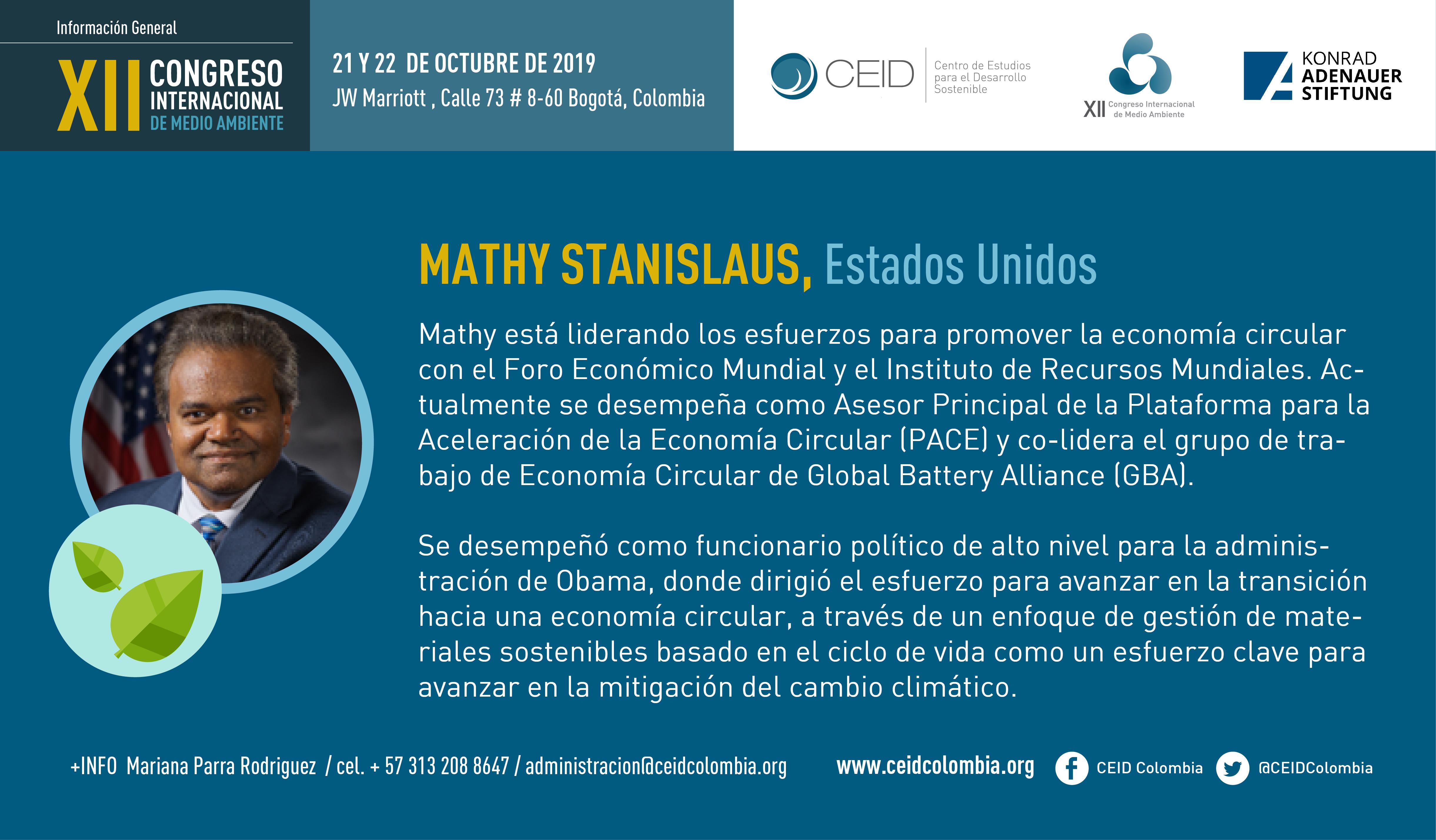 Mathy stanislaus