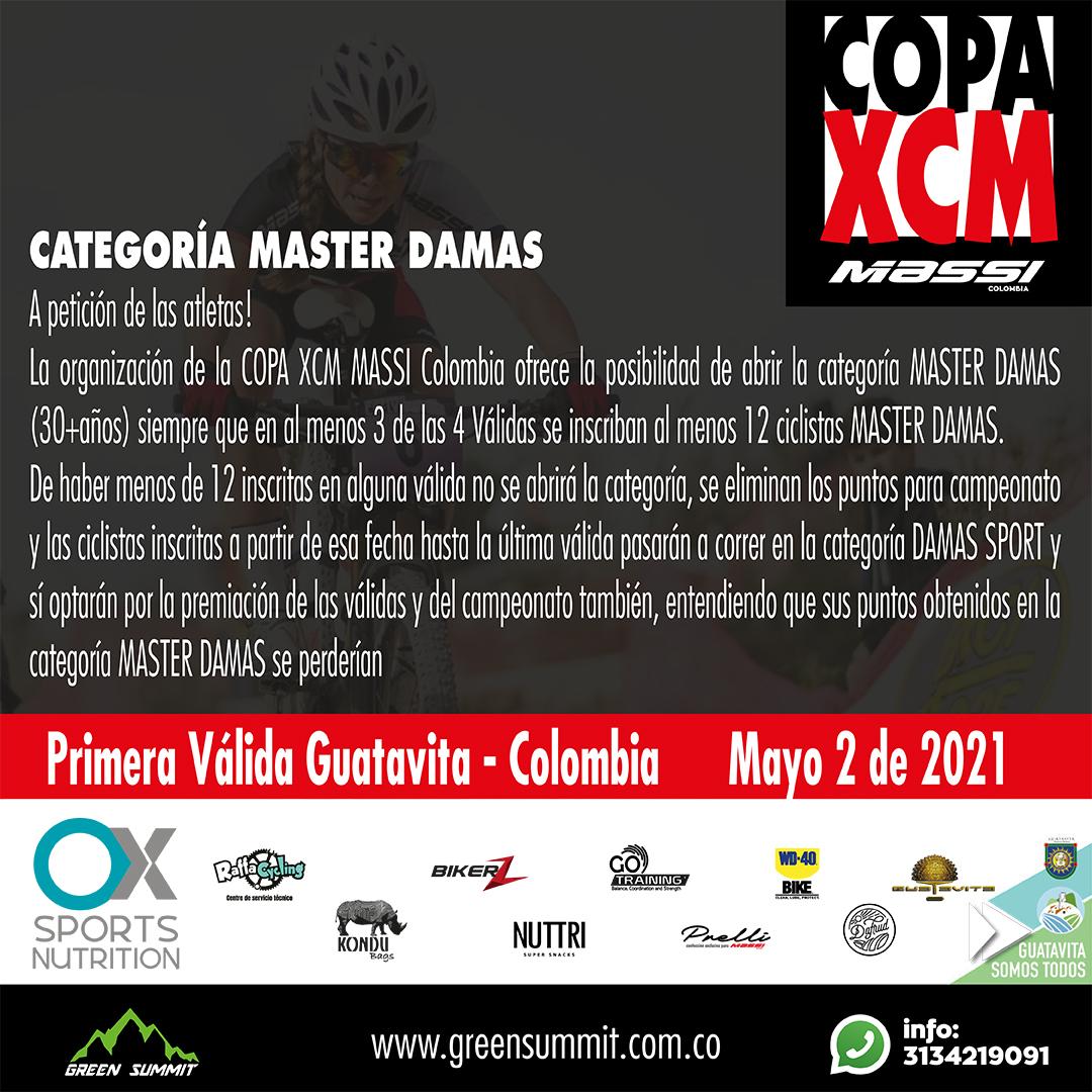 Copa xcm massi nueva fecha 2 de mayo 2021 13