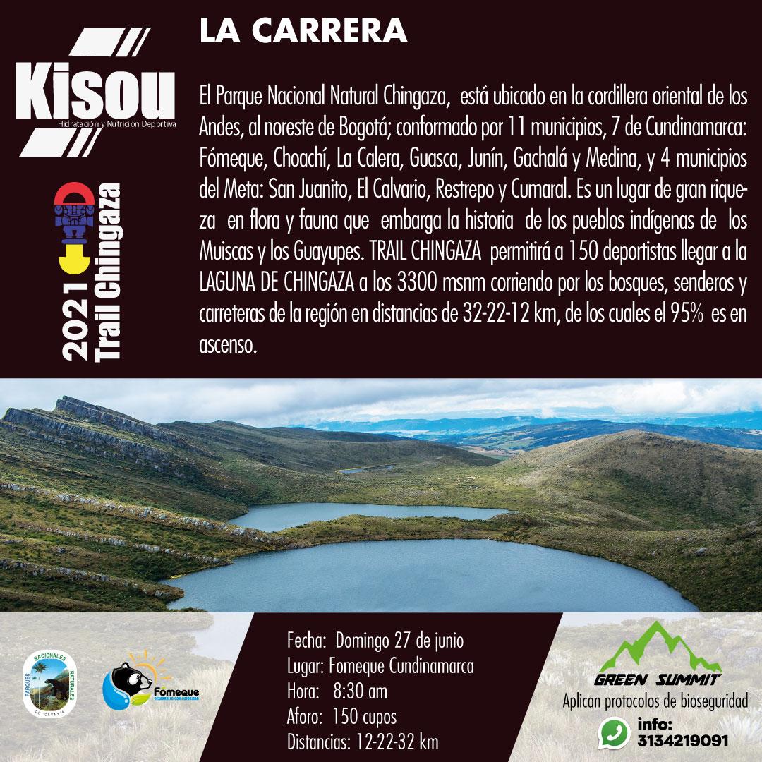 1 la carrera trail chingaza  2021